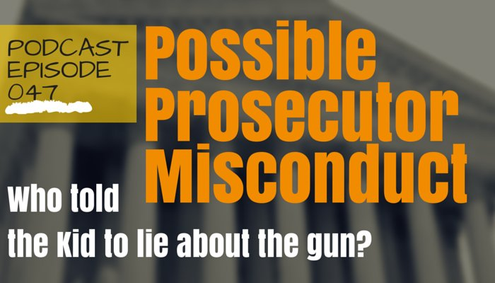 Possible Prosecutorial Misconduct But a Definite Discovery Violation