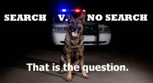 police dog case law summary