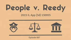 Drug Dog There In A Flash | People v. Reedy, 2015 IL App (2d) 130955