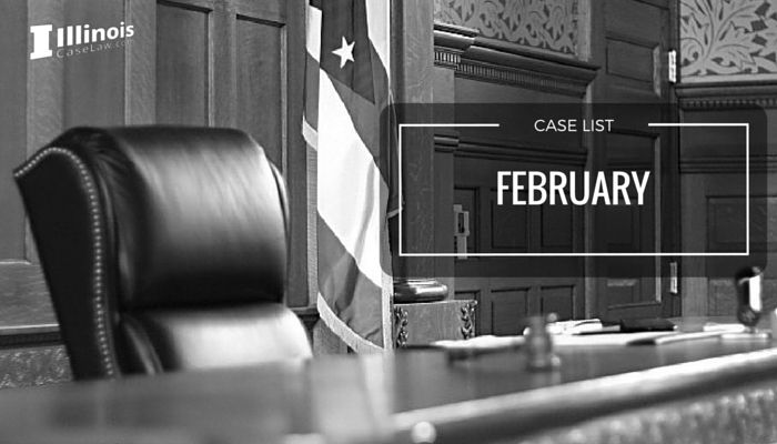 February 2016 Illinois Criminal Case List